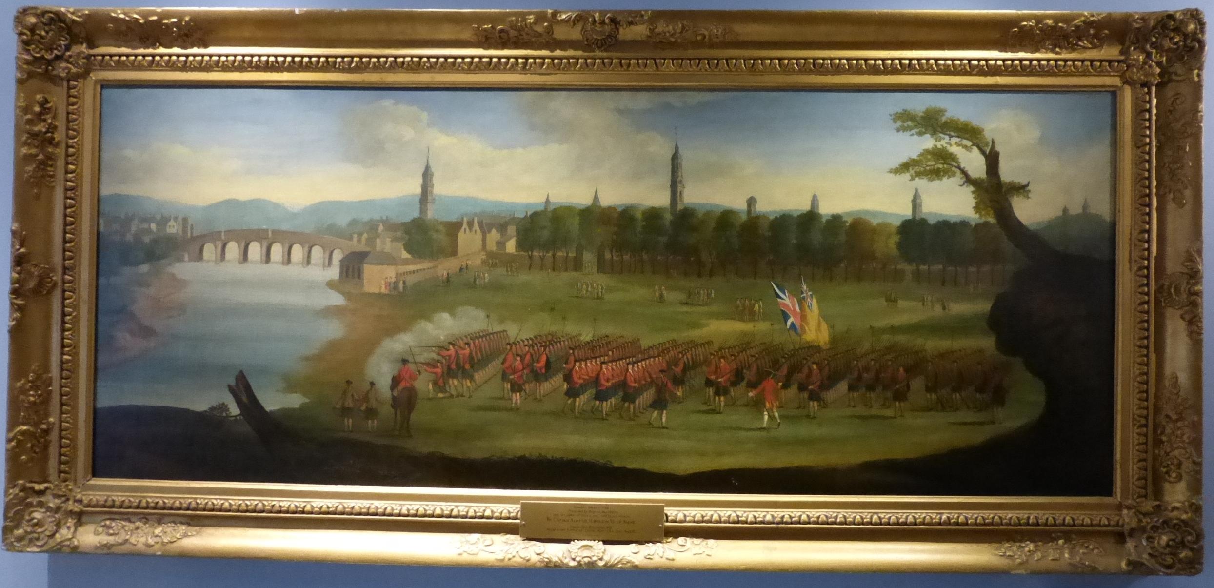 Glasgow Green, c.1758 (Black Watch)