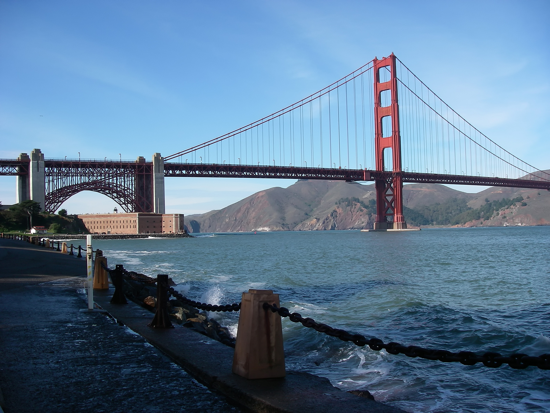 File Golden Gate Bridge And Fort Point 2009 Jpg