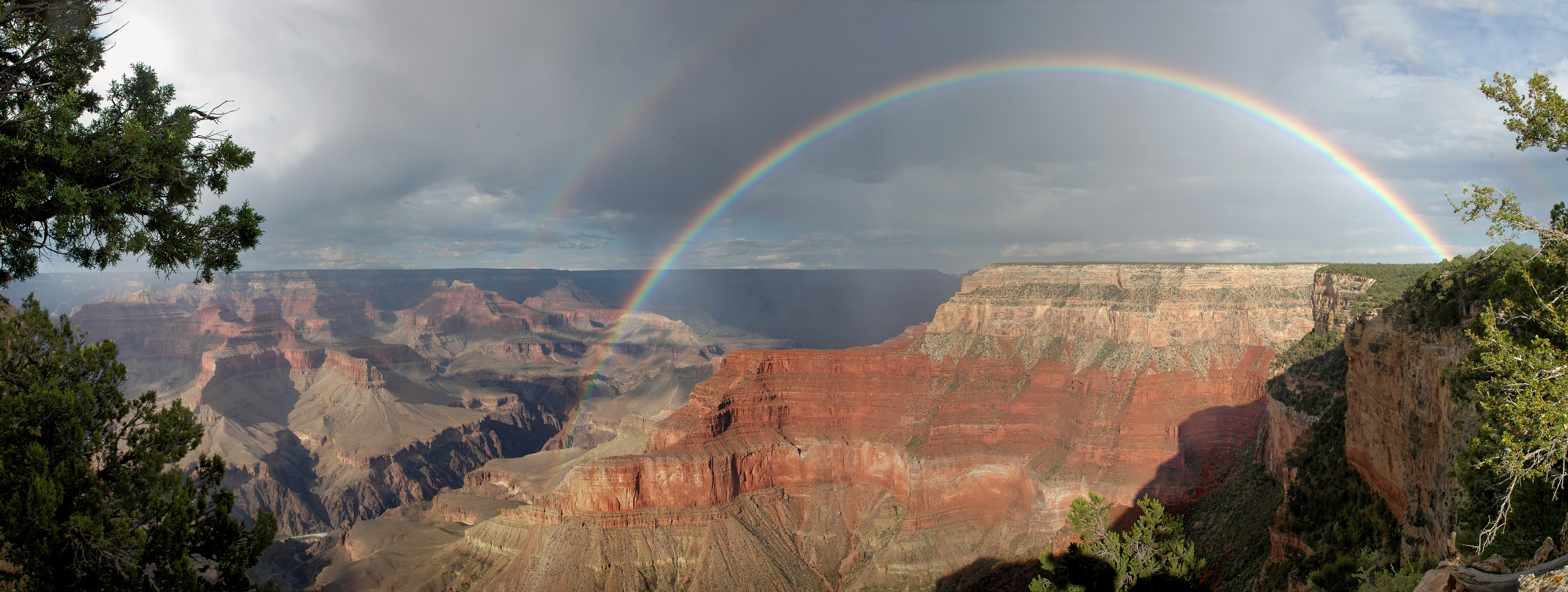 File Grand Canyon National Park Rainbow From Pima Point