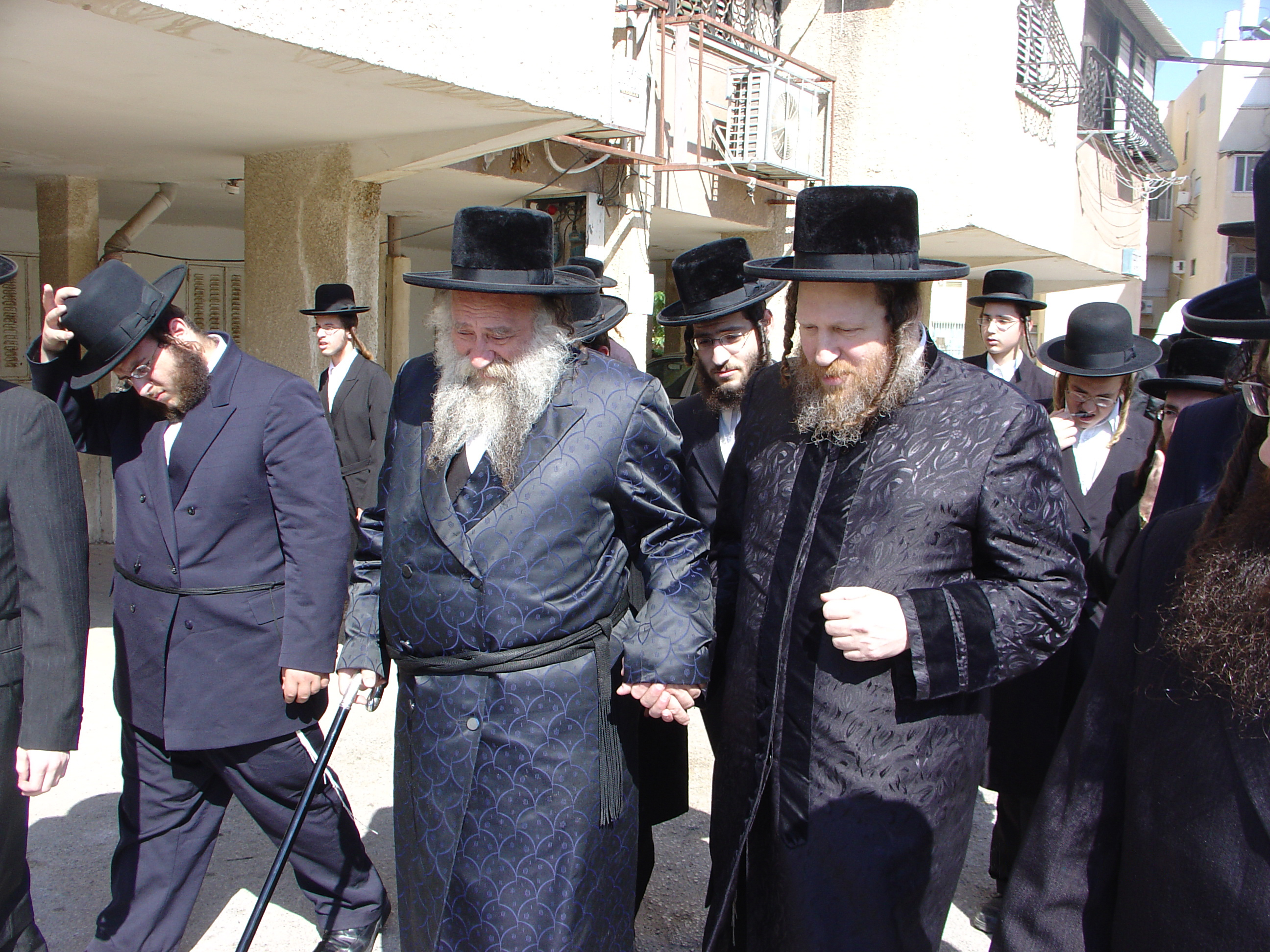 Descendants of the Hasidic rabbinical dynasty