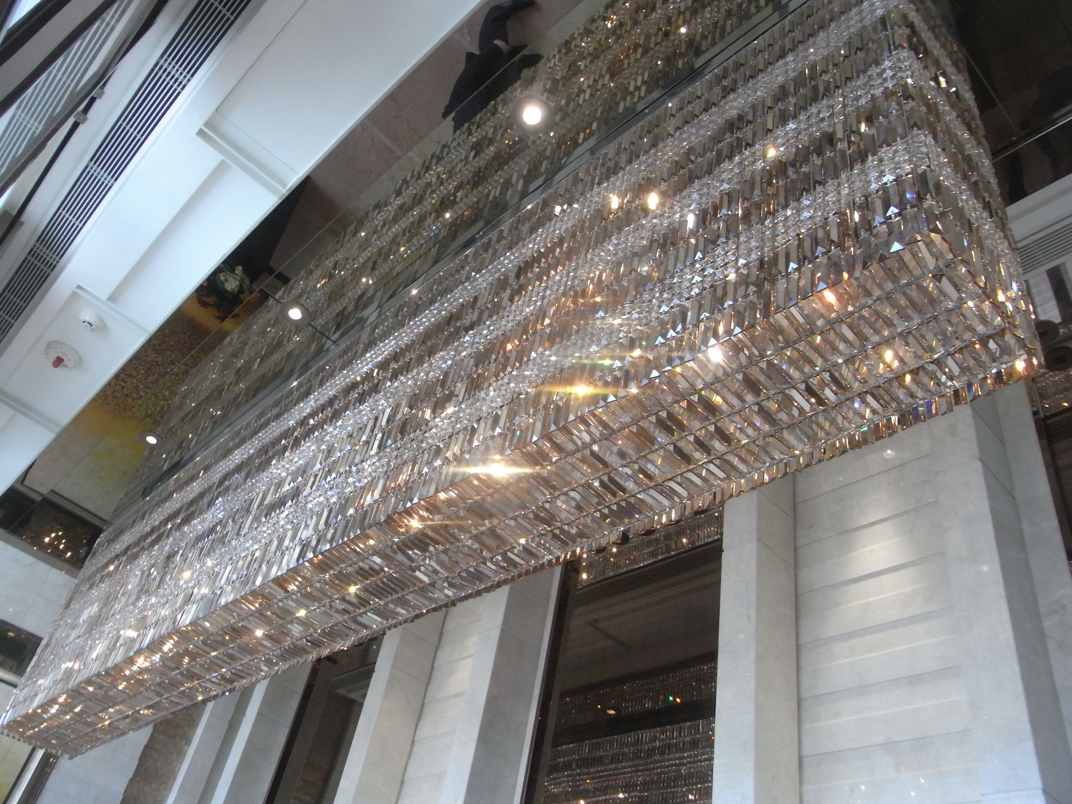 File HK Kln West 天璽 The Cullinan lift lobby ceiling lamps June
