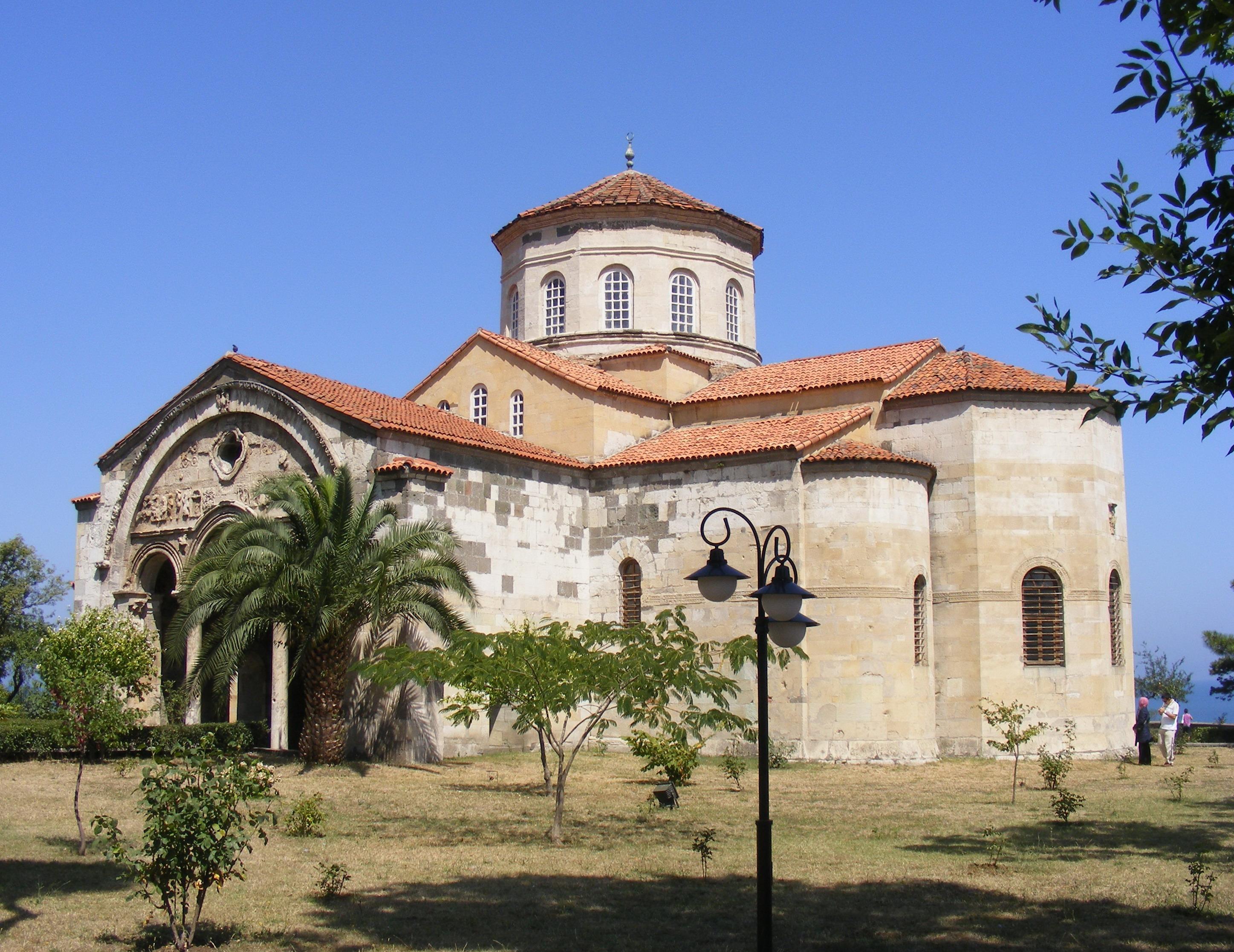 Santa Sofia Trebisonda Wikipedia La Enciclopedia Libre