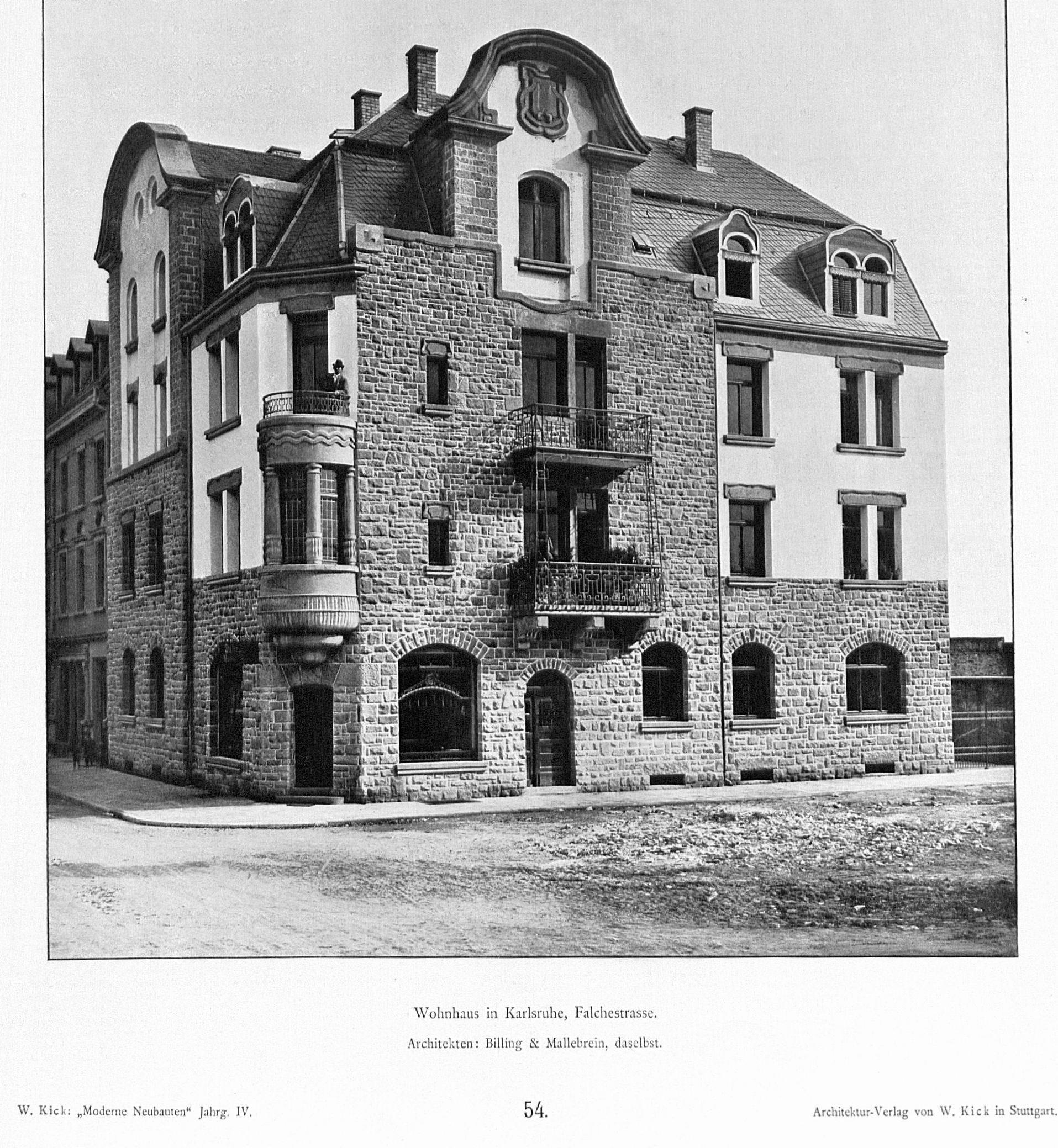 Architekten Karlsruhe file haus in karlsruhe falchestrasse architekten billing