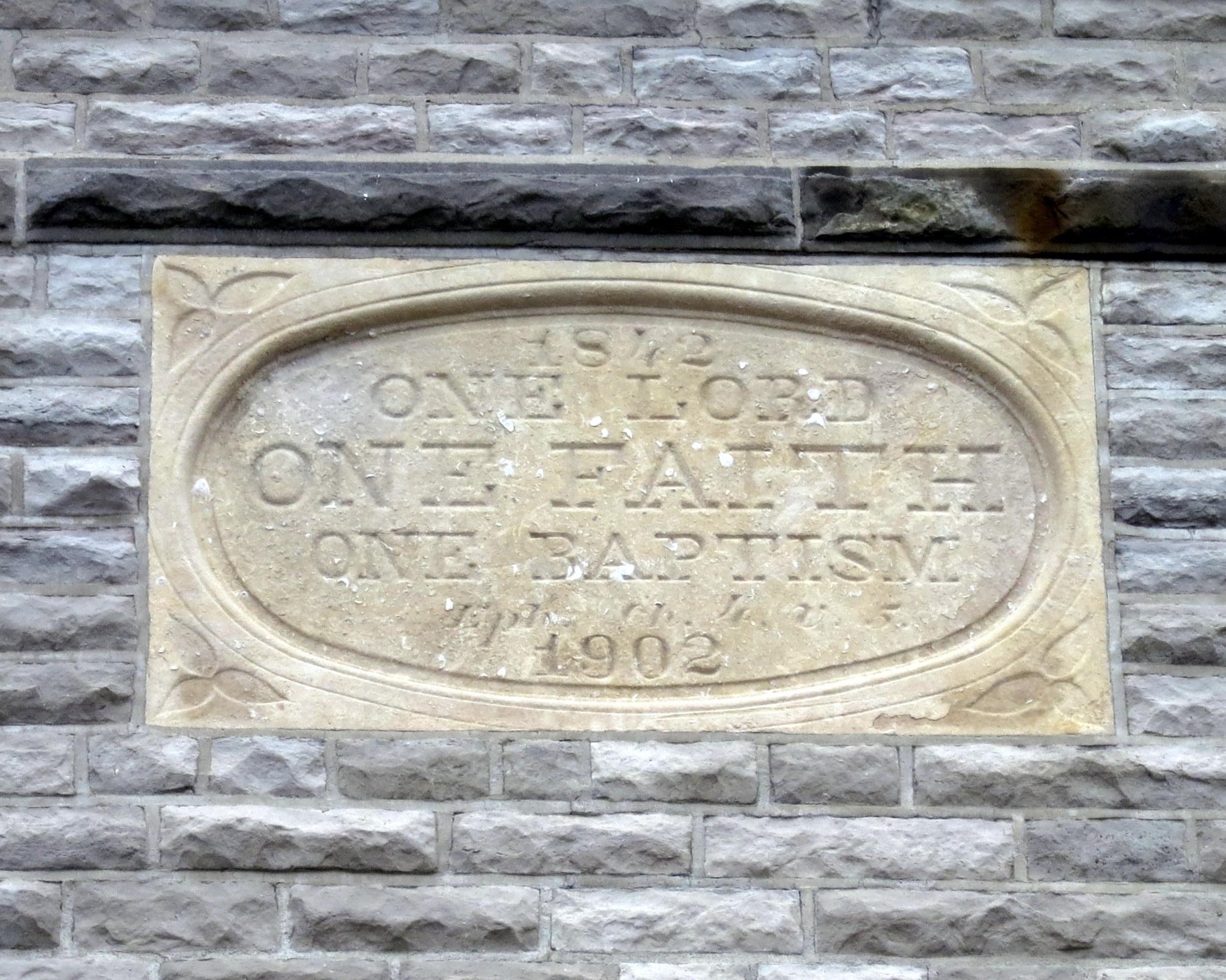 File:Holy Angels Catholic Church (Sandusky, Ohio) - One Lord