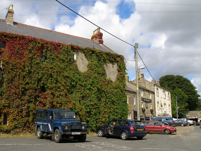 Hotels and pubs in Allendale - geograph.org.uk - 541916