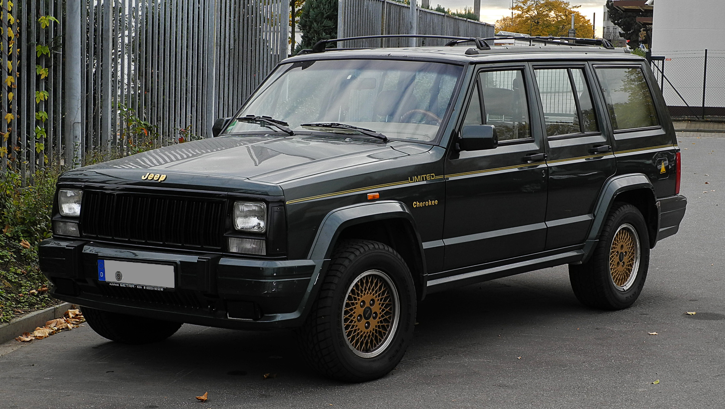 File Jeep Cherokee 4 0 Litre Limited Xj Facelift