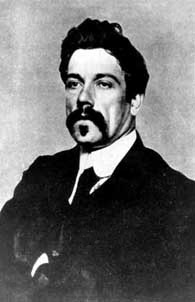 Depiction of John Millington Synge