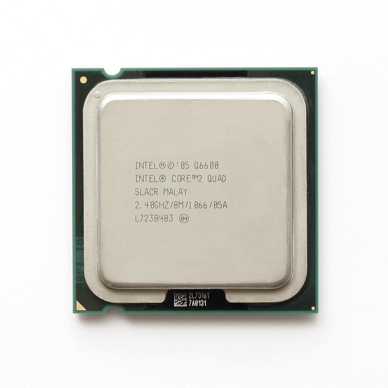 intel core 2 quad processor q6600 8m cache ghz 1066 mhz fsb pret 250ron. Black Bedroom Furniture Sets. Home Design Ideas
