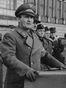 Karl Hanke German Nazi, Gauleiter, last Reichsführer-SS