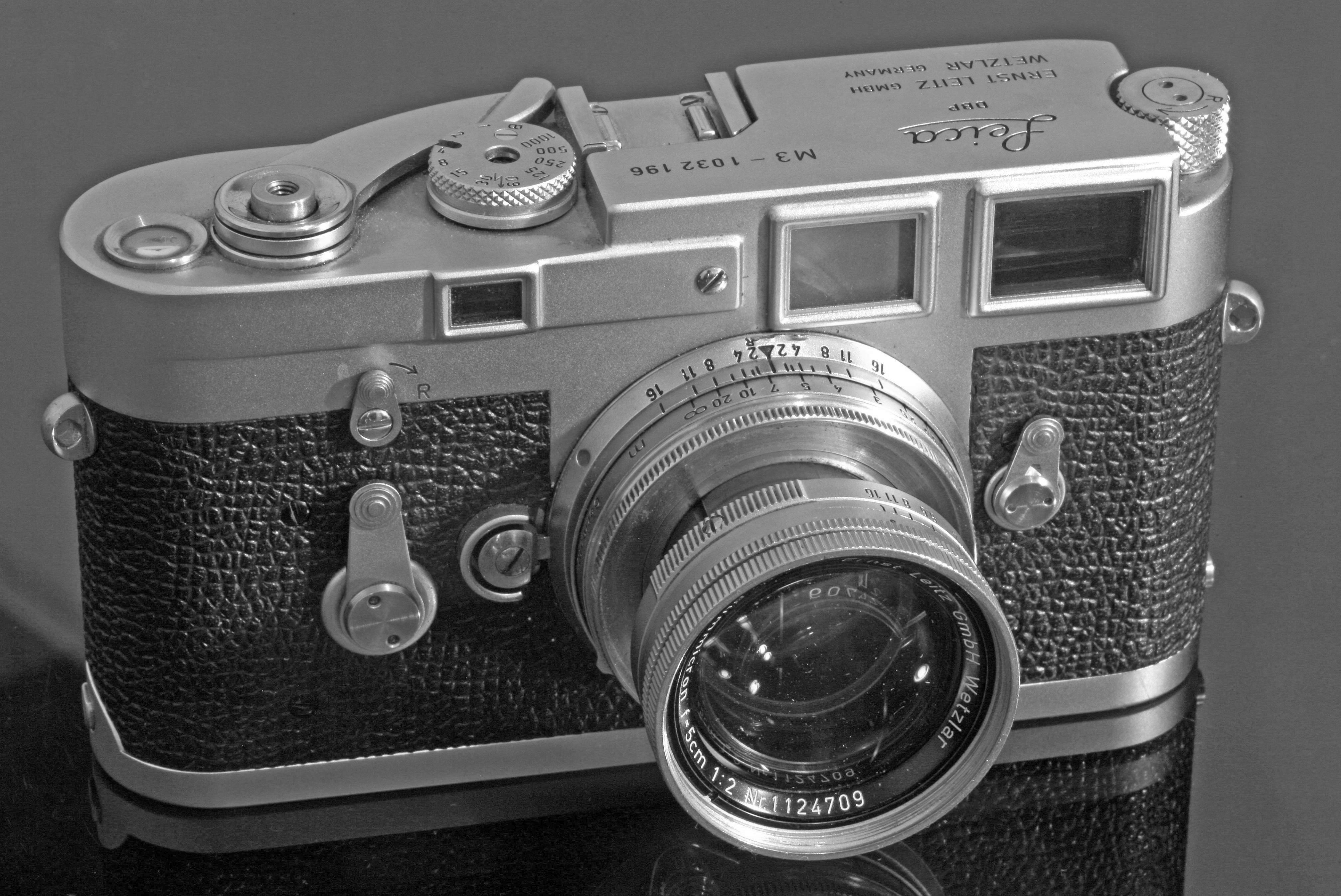 Leica M6 Entfernungsmesser Justieren : Leica m u wikipedia