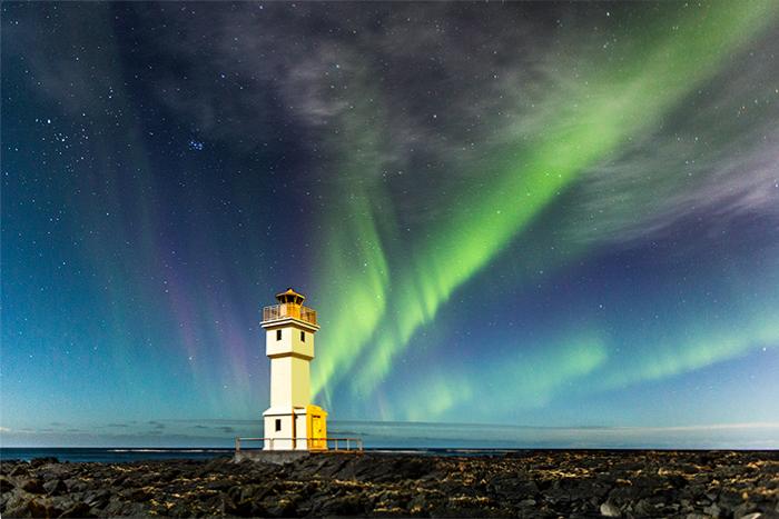 Leuchtturm Akranes Iceland 2015 7001