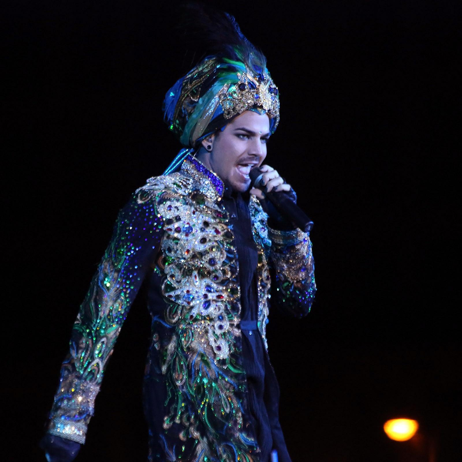 Adam Lambert on Stage