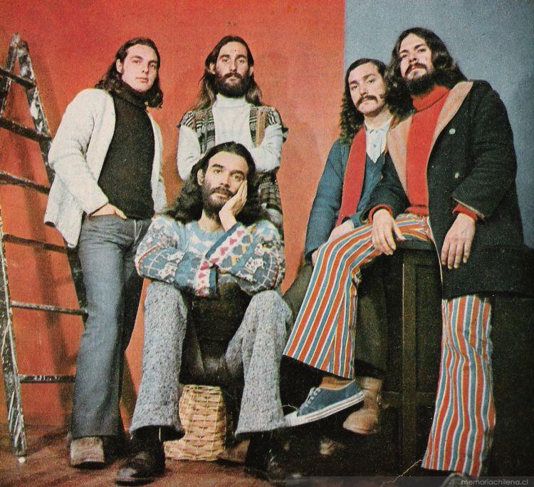 Los Jaivas en 1972