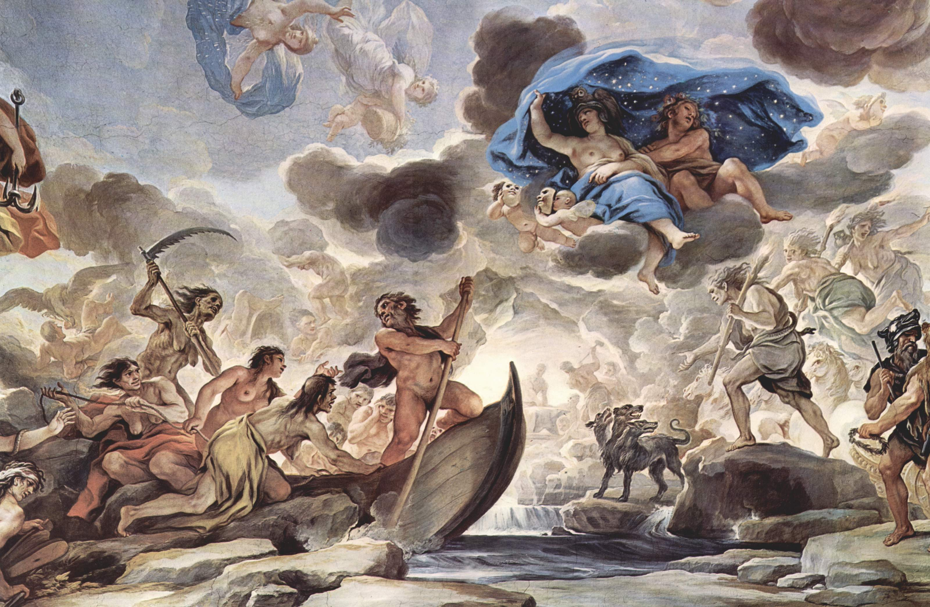 römische mythologie unterwelt