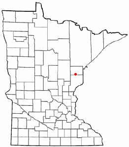 Loko di Moose Lake, Minnesota