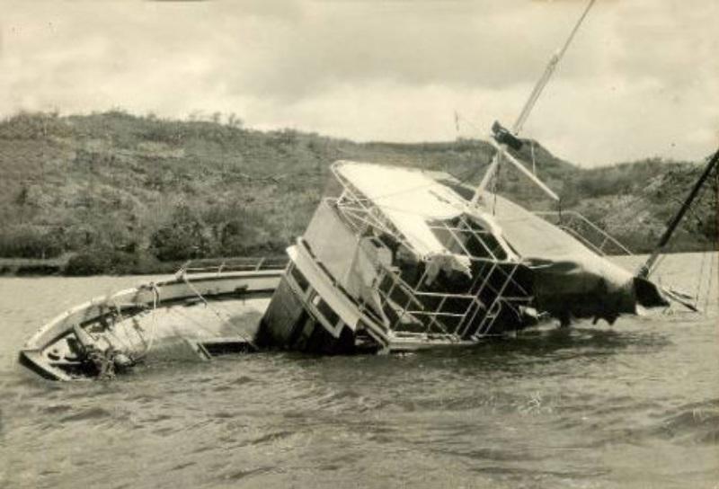 MV Joyita 1955 port