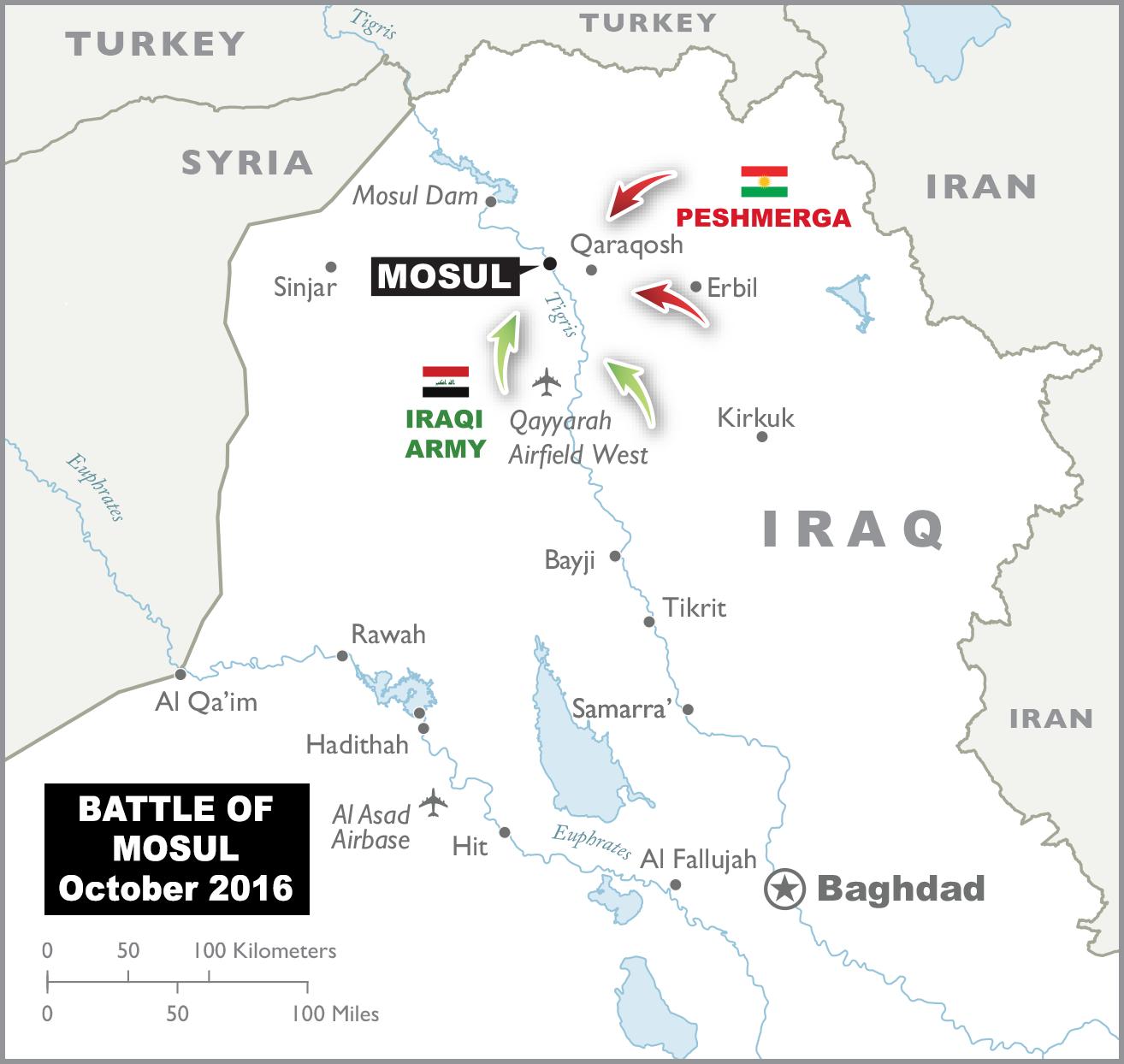 Datei:Map of Iraq - Battle of Mosul.png – Wikipedia