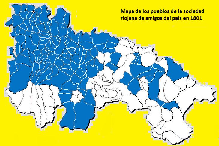 File Mapa De Los Pueblos Integrantes De La Real Sociedad Económica De La Rioja En El Año 1801 Png Wikimedia Commons
