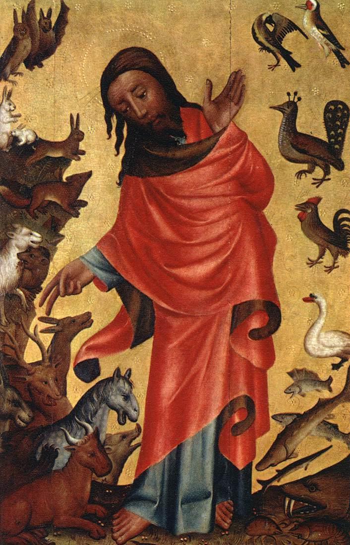 File:Meister Bertram von Minden - Creation of the Animals ...