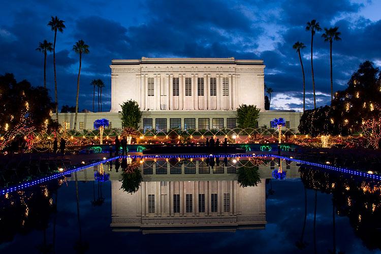 Mormon Temple Gilbert S. Christmas Lights 2020 The Church of Jesus Christ of Latter day Saints in Arizona   Wikipedia