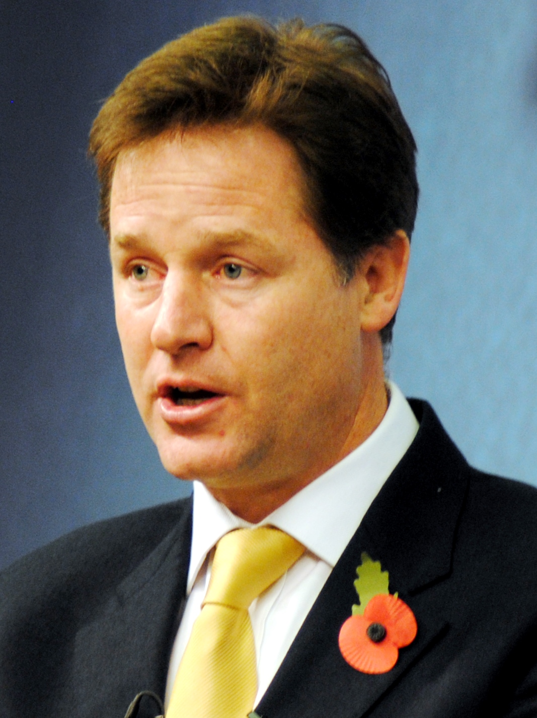 Poet Nick Clegg
