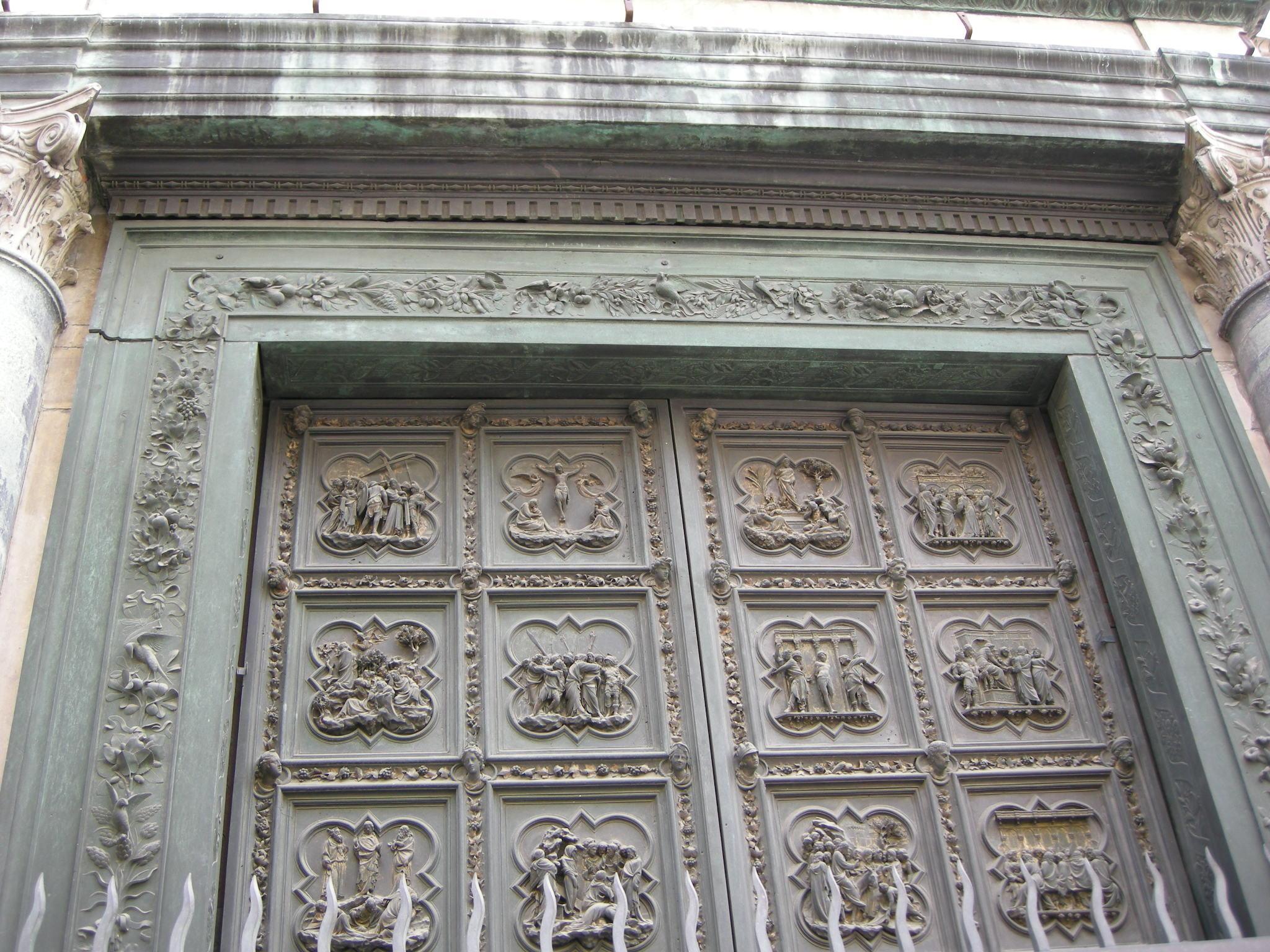 FileNorth Doors of the Florence Baptistry upper.JPG & File:North Doors of the Florence Baptistry upper.JPG - Wikimedia ...