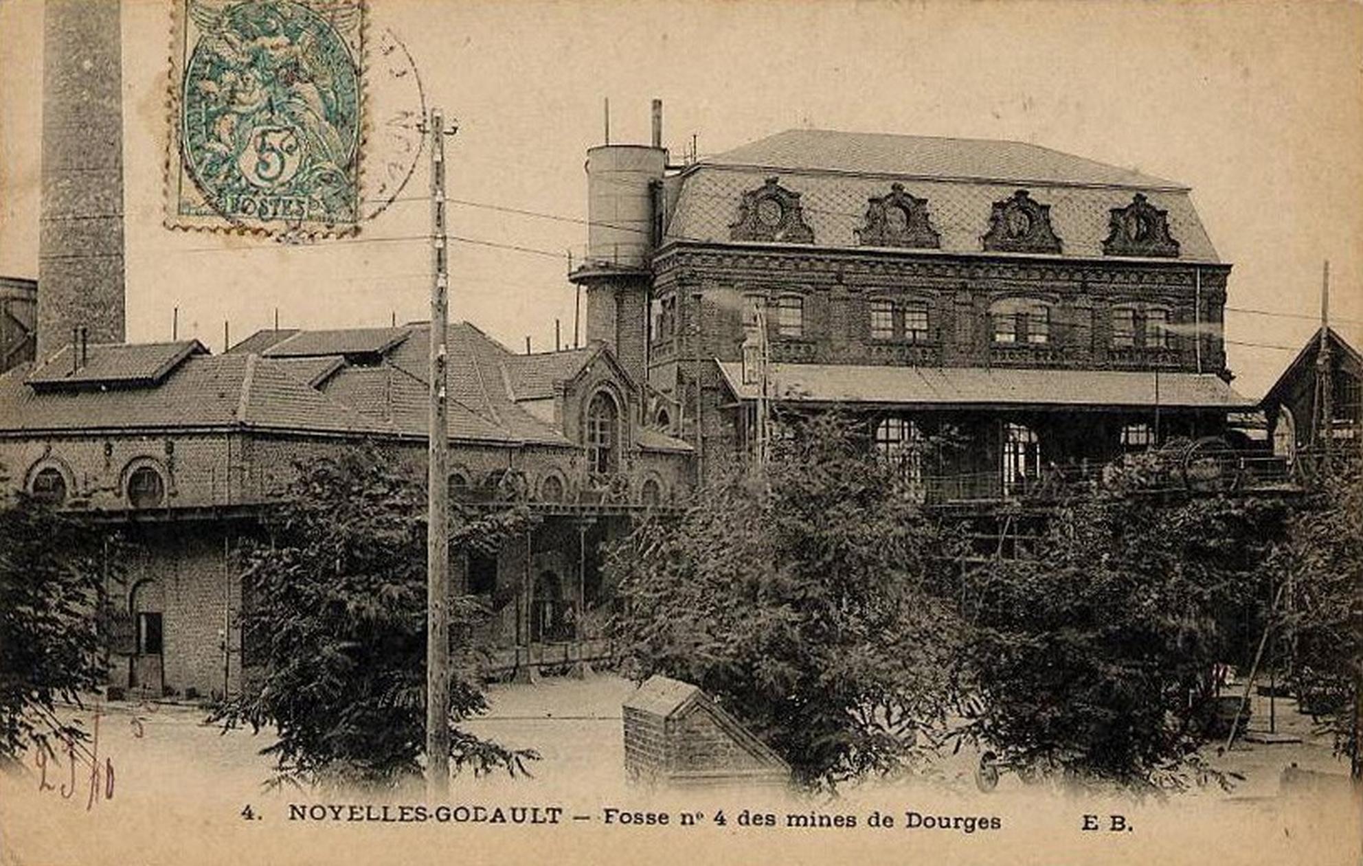 Noyelles Godault France  City new picture : Fichier:Noyelles Godault Fosse n° 4 4 bis des mines de Dourges B ...