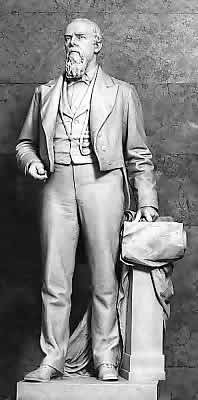 Oliver P. Morton in U.S. Statuary Hall