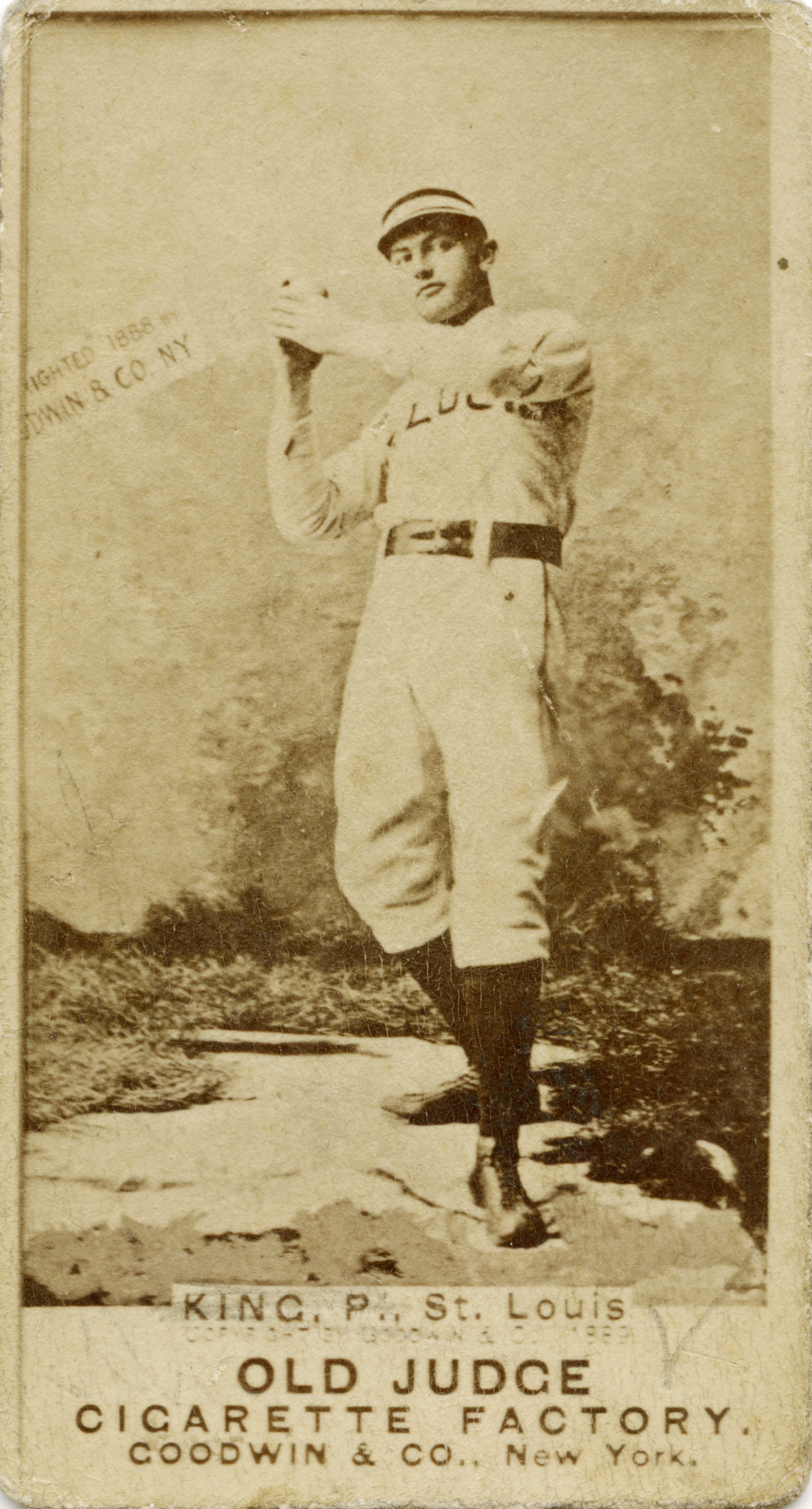Fileold Judge Goodwin And Company Baseball Card For St Louis