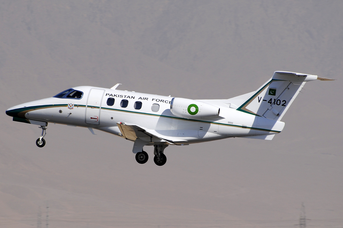 Pakistan Air Force Embraer EMB 500 Phenom 100 Asuspine 1 - Pakistan Air force   aircrafts