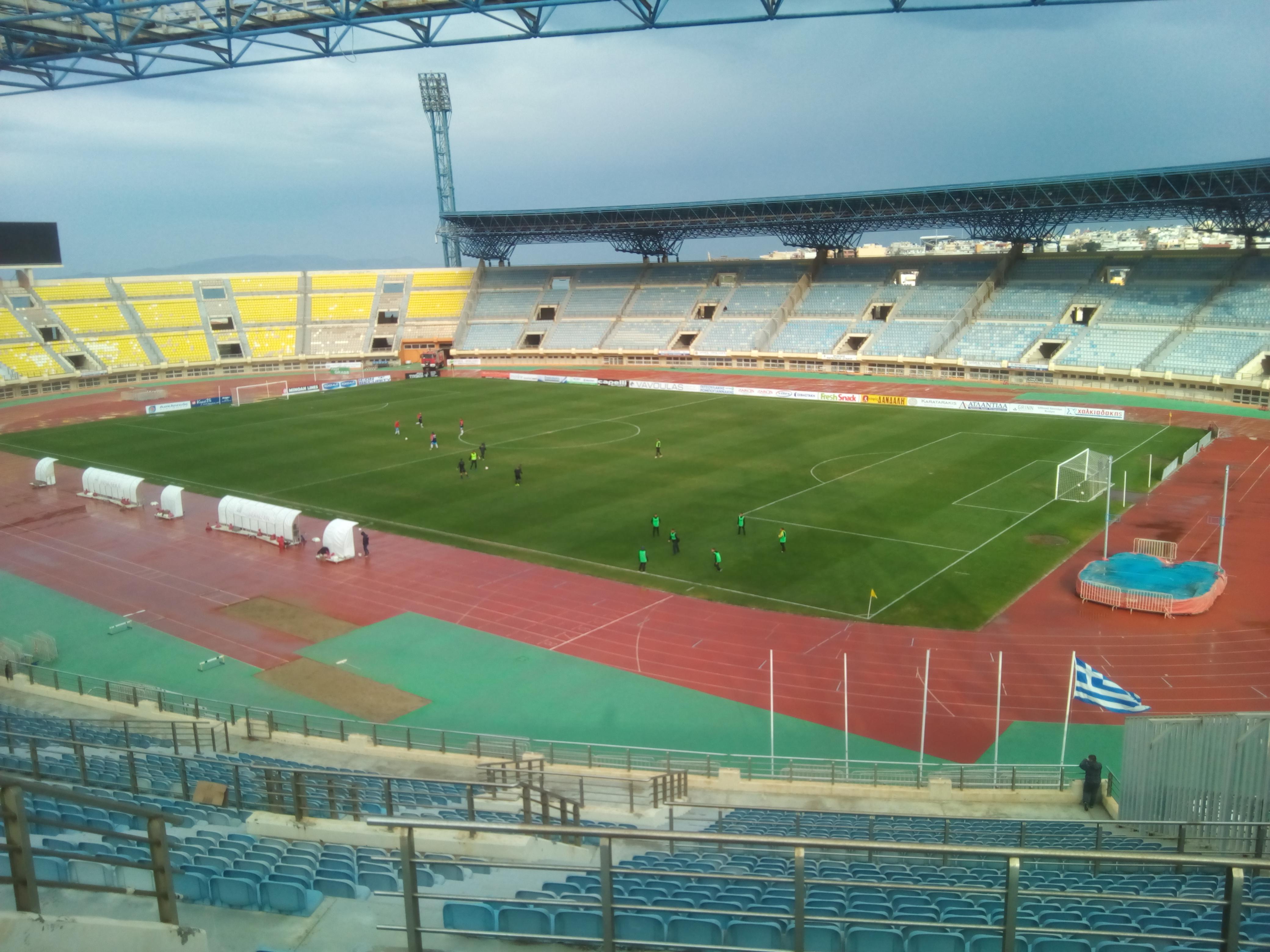 Showroom It Rignano Flaminio pankritio stadium - wikipedia