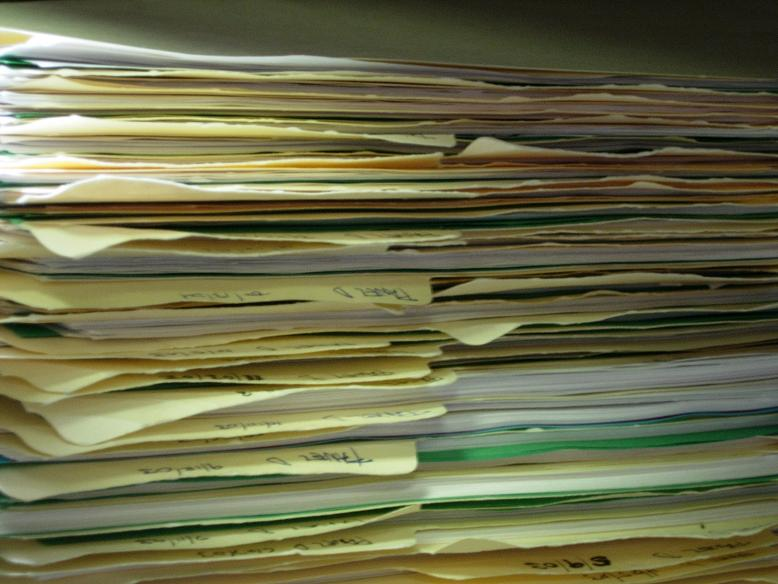 image of paperwork