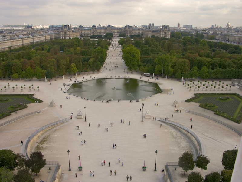 Jardin des tuileries wikiwand for Jardins des tuileries