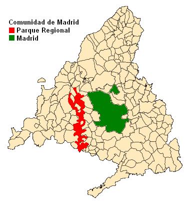 Parque regional del curso medio del r o guadarrama y su for Curso de escaparatismo madrid
