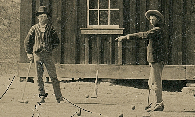 Billy the Kid and friend