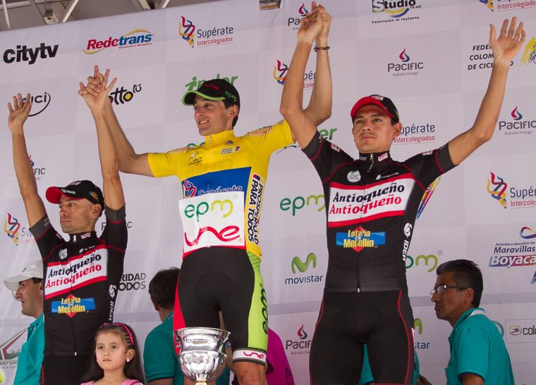 Depiction of Vuelta a Colombia 2013