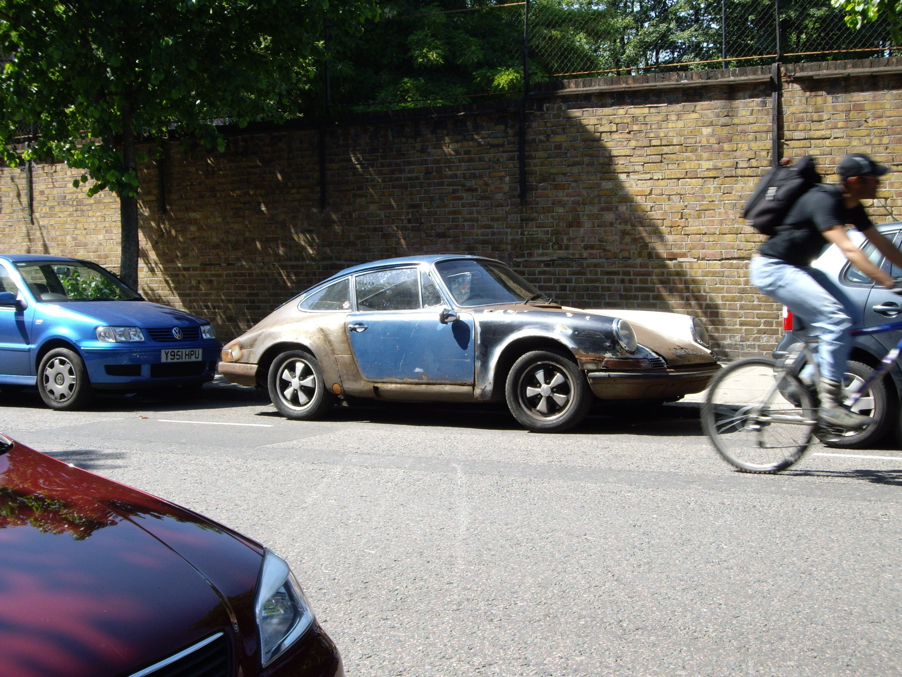 File Porsche 911 Rat Rod Jpg Wikimedia Commons