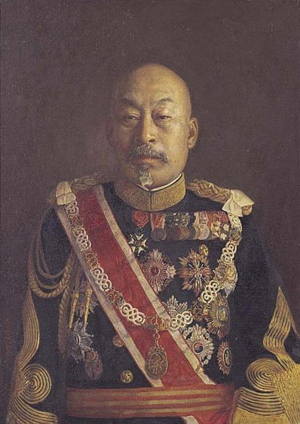Depiction of Terauchi Masatake