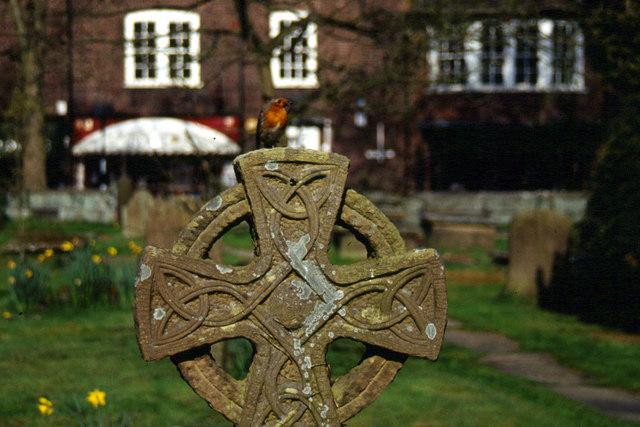 Prestbury Churchyard - geograph.org.uk - 163695