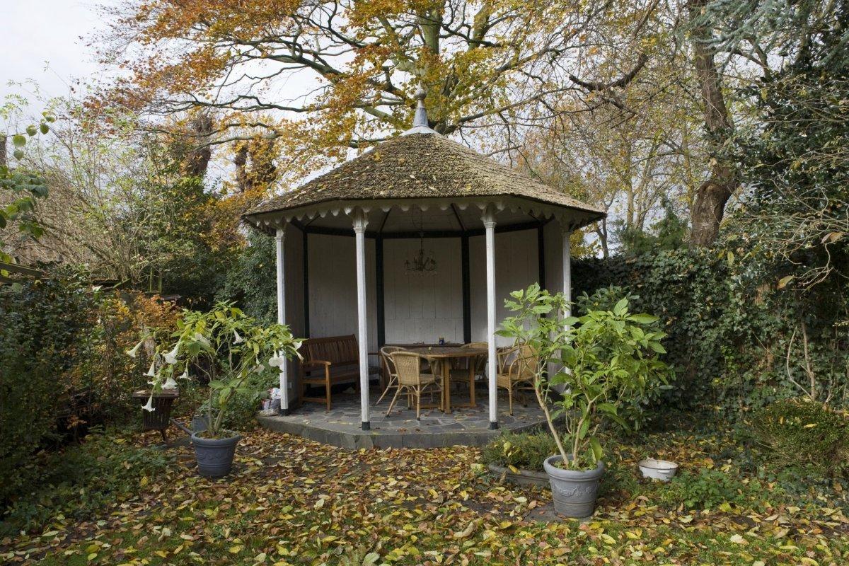 File prieel de tuin groningen 20416955 wikimedia commons - Prieel tuin ...