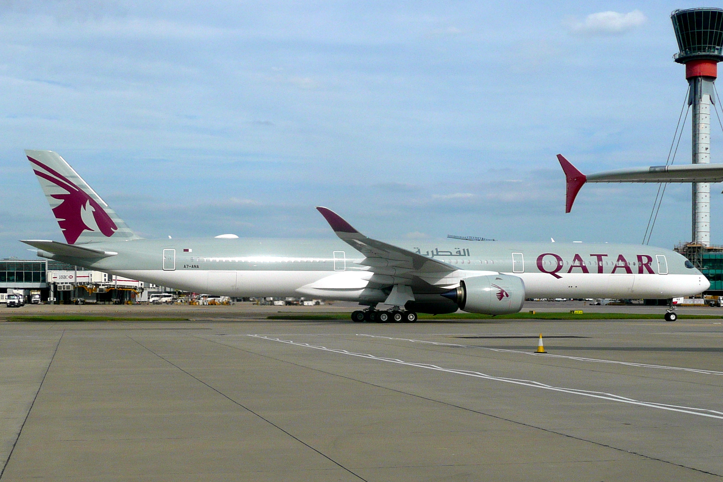 File:Qatar Airways, A7-ANA, Airbus A350-1041.jpg