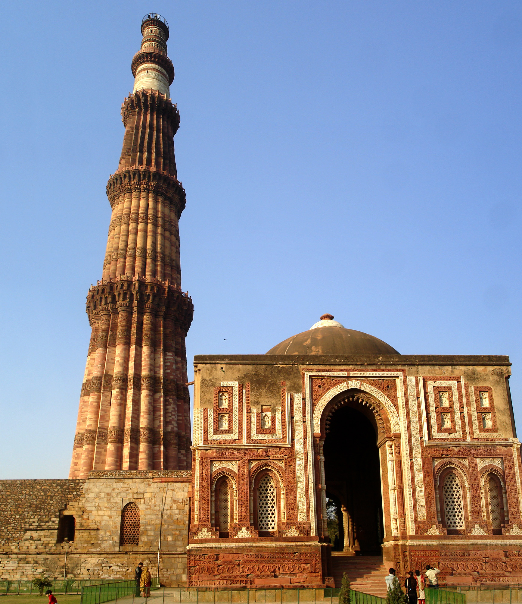 File qutab minar wikipedia Indian building photos