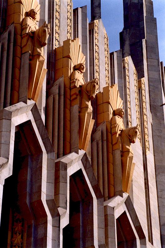 ''Circuit Riders'', Boston Methodist Church, Tulsa, Oklahoma