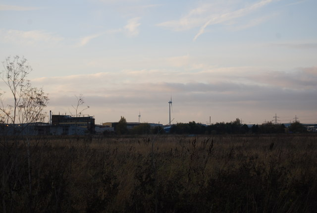 Rainham Marshes looking west towards Hornchurch - geograph.org.uk - 1601772