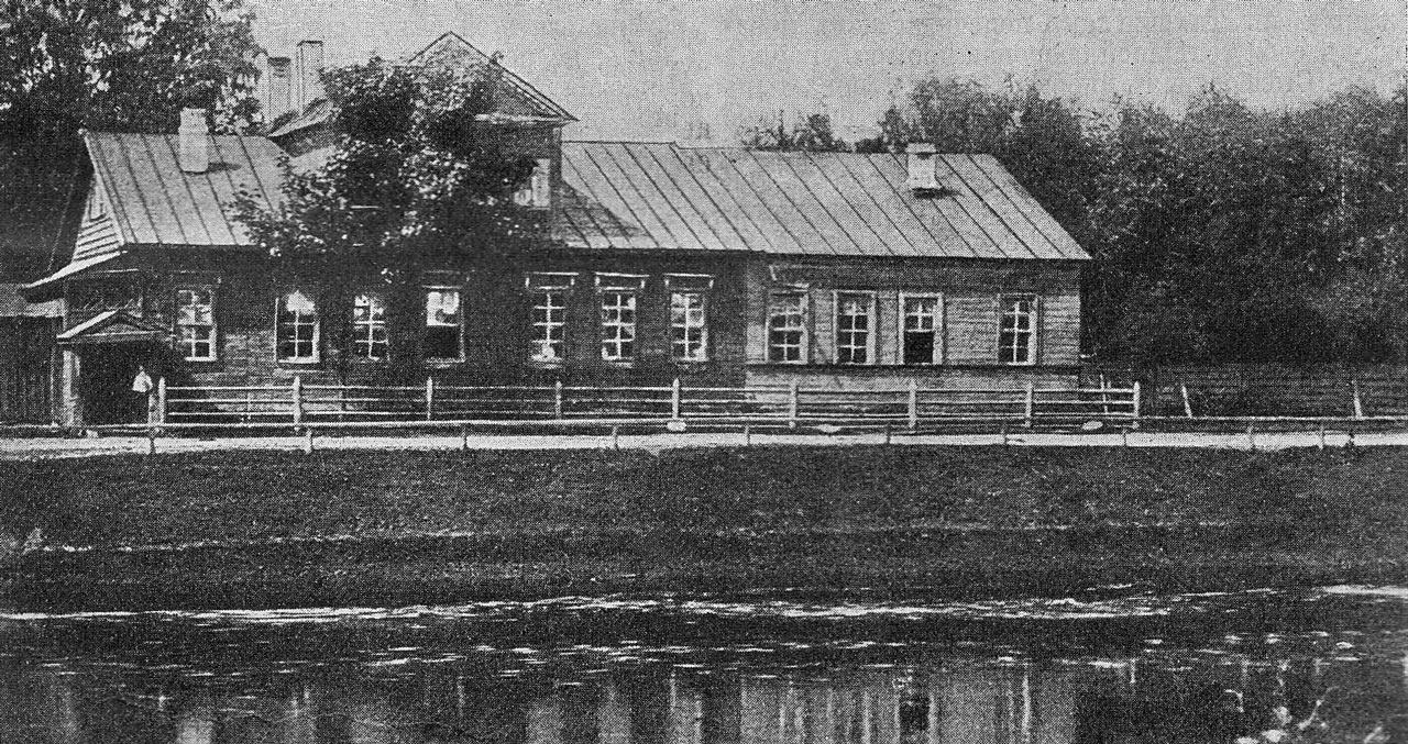 Rimsky-Korsakov's birthplace in [[Tikhvin