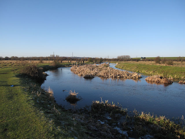 River Colne, Staines Moor - geograph.org.uk - 1659543