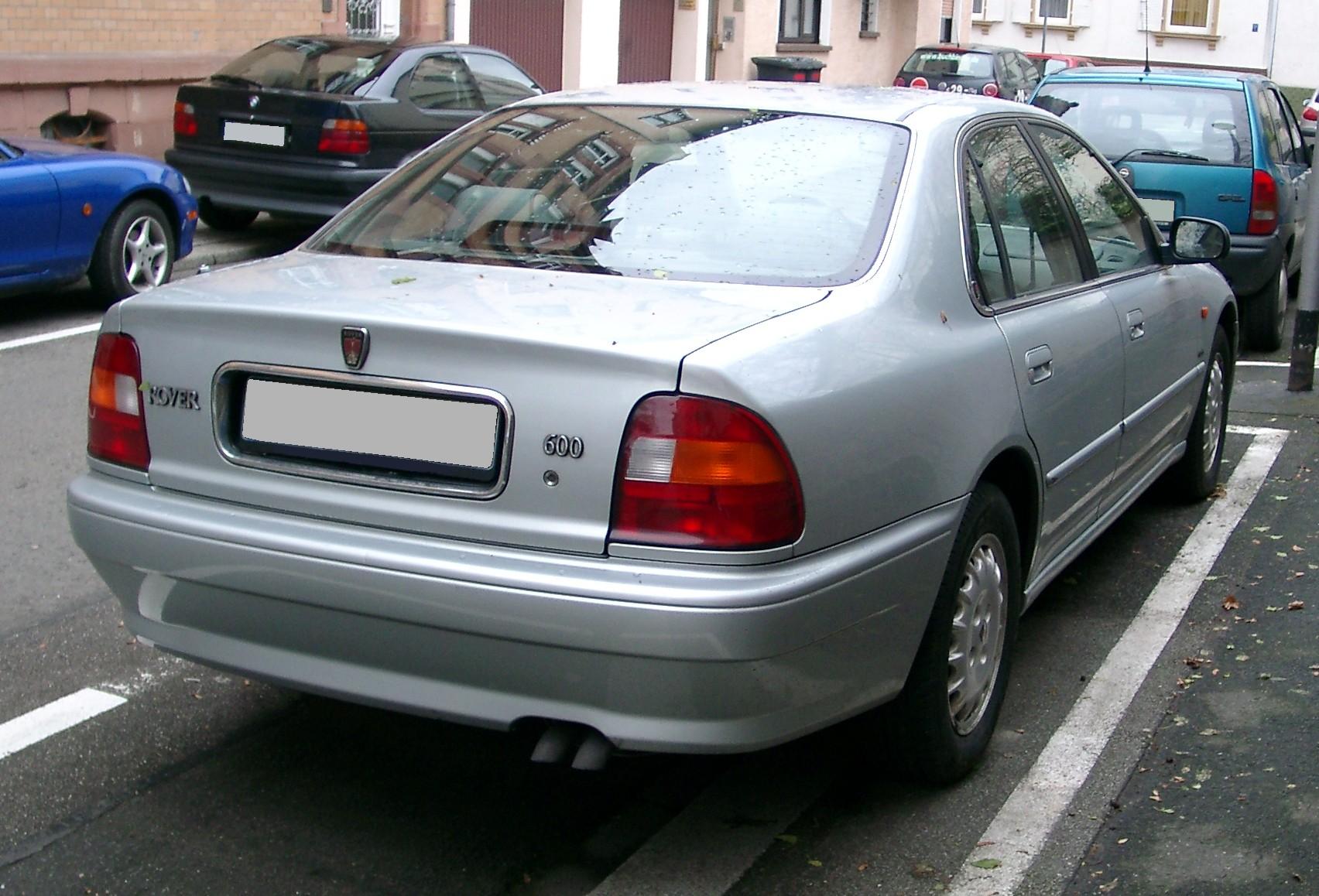 Rover 600 rear 20071204 jpg