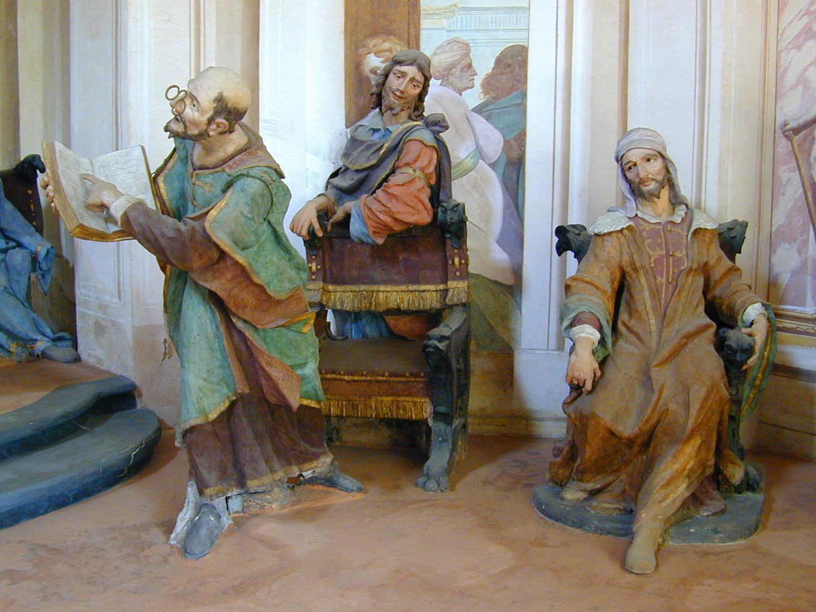 File:Sacro Monte di Ossuccio. Cappella 5. La Disputa di Gesù con i ...