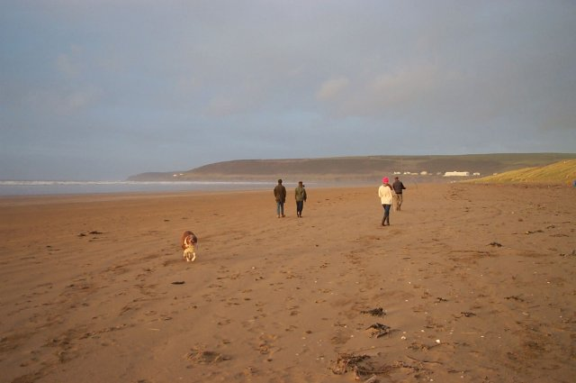 Saunton sands - geograph.org.uk - 19492