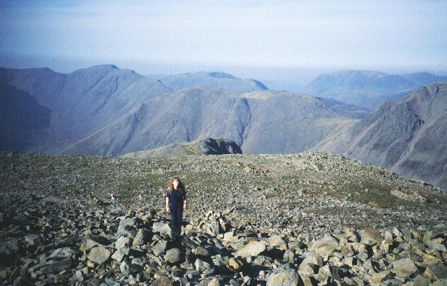 Scafell Pike plateau. - geograph.org.uk - 64213